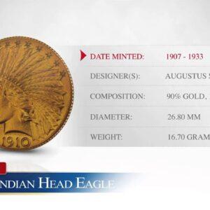 $10 Gold Indian Head Eagle - Goldco Precious Metals