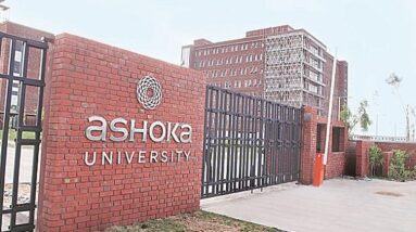 Ashoka Univ acknowledges lapses in institutional process, expresses regret