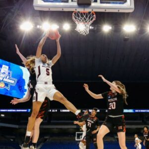 Weight rooms, swag, and the 'March Madness' brand: How the NCAA is shortchanging women's basketball