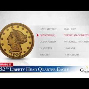 $2.50 Liberty Head Quarter Eagle - Goldco Precious Metals