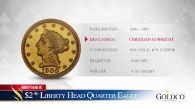 $2.50 Liberty Head Quarter Eagle - Goldco Precious Metals