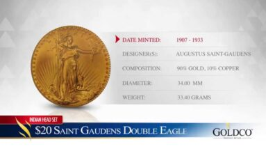 $20 Gold Saint Gaudens Double Eagle - Goldco Precious Metals