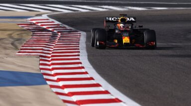 Verstappen Leads Practice for Bahrain GP Ahead of Qualifying