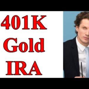 401k Gold IRA