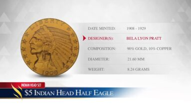 $5 Gold Indian Head Half Eagle - Goldco Precious Metals