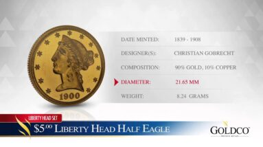 $5 Gold Liberty Head Half Eagle - Goldco Precious Metals
