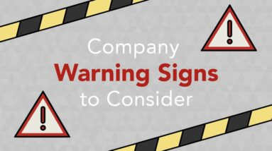 Company Warning Signs to Consider When Investing | Phil Town