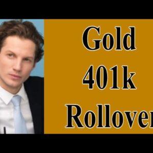 gold 401k rollover