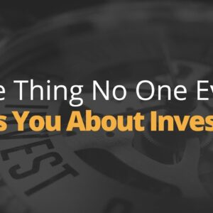 Here's What No One Will Tell You About Investing | Phil Town