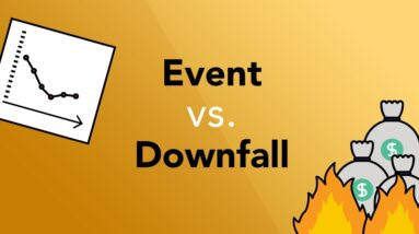 How to Know an EVENT from a Complete Company DOWNFALL | Phil Town