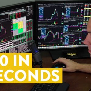 [LIVE] Day Trading | $320 in 7 seconds (but that's not all!)