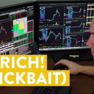 [LIVE] Day Trading | I'm Rich! (clickbait warning...)