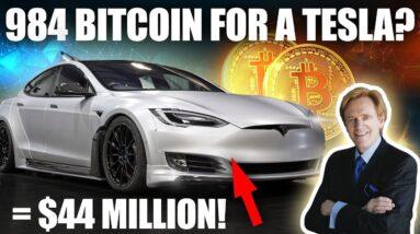 My Friend Spent 984 Bitcoin On A Tesla | Mike Maloney