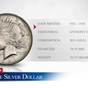 Silver Peace Dollar - Goldco Precious Metals
