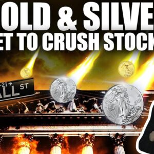 Why Gold & Silver Are Set To CRUSH Stock Returns..& The End of Freedom?