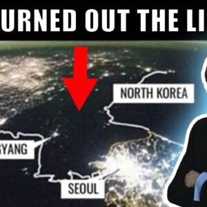 Why Is North Korea A Dark Void At Night?