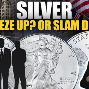 Will Silver Be Squeezed Up...or Slammed Down? Mike Maloney