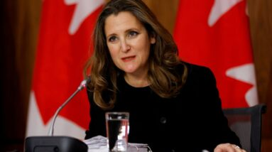 Canada finance minister: Pandemic an opportunity to bring in national childcare