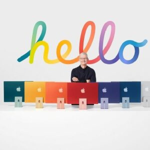Apple spreads Spring colours with a range of new product launches