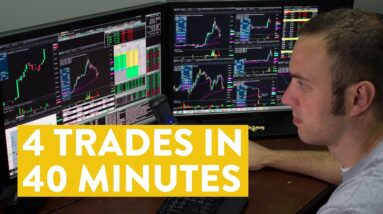[LIVE] Day Trading | 4 Trades in 40 Minutes (see the results...)