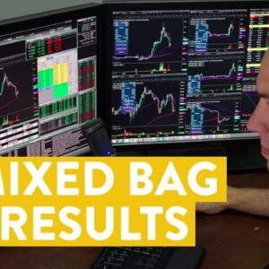 [LIVE] Day Trading | A Mixed Bag of Stock Trade Results