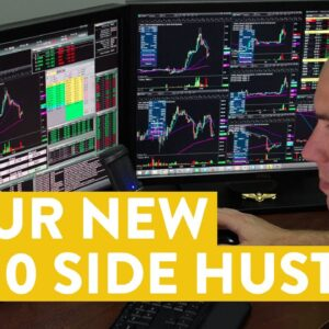 [LIVE] Day Trading | The $500 Side Hustle You Can Do...