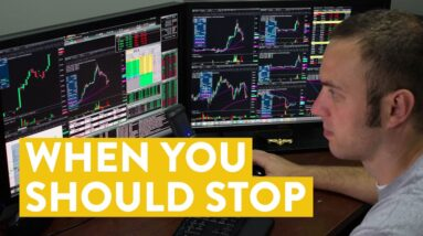 [LIVE] Day Trading | This is When You Should STOP...